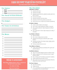 Planning A Baby Shower The Ultimate Checklist Shawna Morris Diy