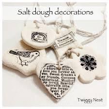 Clay Christmas Ornaments  Dough Ornaments Salt Dough And OrnamentSalt Dough Christmas Gifts