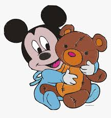 Embroidery Mickey Mouse Design Baby Mickey Mouse And Toy Bear Embroidery Design Clipart