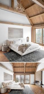 Schlafzimmer Design Mit Holz 22 Einrichtungsideen Mit Rustikalem Touch