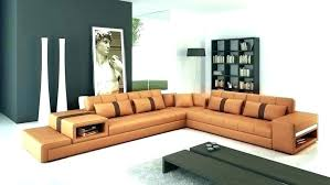 rust colored leather sectional sofa camel brown cream couch idea and furniture extraordinary