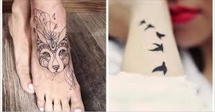 стильные тренды татуировок для девушек Makataka