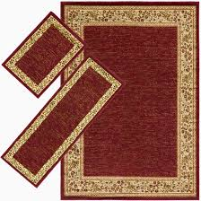 threadbind harlan burdy 3 piece area rug set thbd1099