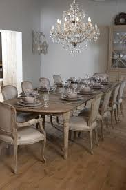 french inspired dining room with splendid chandelier