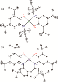 Group 10 bis iminosemiquinone plexes measurement of singlet triplet gaps and analysis of the effects of metal and geometr