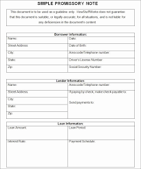 Blank Promissory Note Template Tinymcsmall Template