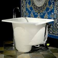 Fabulous Bathroom Tiny Japanese Soaking Tub Simple How To Build A House Of Small  Tubs Bathrooms ...