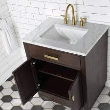 Chestnut 30 Single Bathroom Vanity Vanity With Mirror S Overstock 31227661 Brown Oak