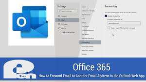 how to setup automatic email forwarding