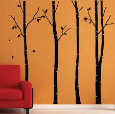 birch tree wall stickers wall graphics wall art wall decorations