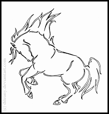 Kleurplaat Paardenhoofd Mooi Horse Tattoo By Dileany On Deviantart