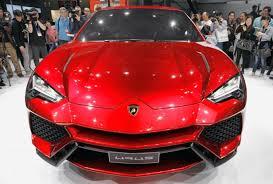 new car releases in usaA Lamborghini for the whole family Lamborghini Urus SUV to launch