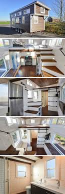 Small One Bedroom Homes The Mansion A Beautiful 270 Sq Ft Tiny House On Wheels