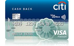 citi cash back credit card how to