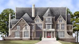 castle house plans. Delighful Plans Dunrobin Castle House Plan  Front Rendering Archival Designs With Plans