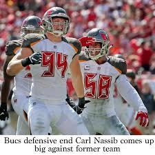 Bucs defensive end Carl Nassib comes up big against former team