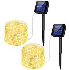 solar string lights. Brilliant Lights Mpow Solar String Lights 33ft 100LED Outdoor Waterproof  Decorative Lights For Throughout