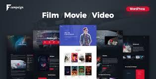 Wordpress Movie Theme Filmcampaign Complete Film Campaign Wordpress Theme