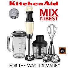 kitchenaid 5 speed hand mixer. kitchenaid - 5 speed hand blender almond cream kitchenaid mixer