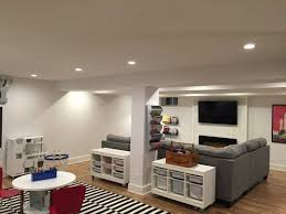 Before After Lacey's Multifunctional Basement Basement Reno Mesmerizing Basement Makeover Ideas