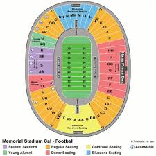 Uc Berkeley Football Stadium Seating Chart Usc Football Seating Chart Cal Berkeley Memorial Stadium