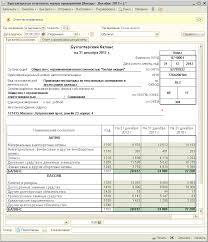 Составление бухгалтерской отчетности за год субъектами малого  Для составления бухгалтерского баланса предназначена закладка Бухгалтерский баланс рис 3