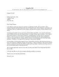 English Instructor Cover Letter Relief Teacher Cover Letter Sample