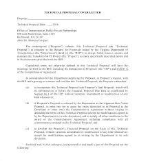 Sample Bid Letters Bid Proposal Cover Letter Cover Letter Proposal Proposal Cover
