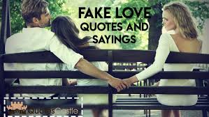 Love Is Fake Quotes Beauteous Top 48 Best Fake Love Quotes And Sayings For Spotting Fake Lovers