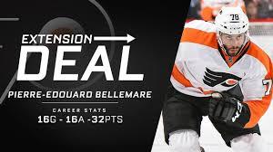 Philadelphia Flyers Bedroom Philadelphia Flyers Extend Bellemare Neuvirth