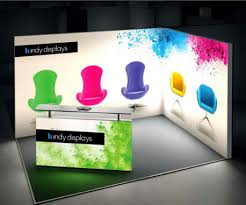 Free Standing Display Boards For Trade Shows Backlit Trade Show Displays IndyDisplays 56