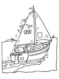 Schip Zeilen Zeilboot Knutselpaginanl Knutselen Knutselen