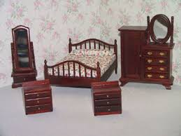 furniture for dollhouse. dollhouse furniture attic sets 112th scale for
