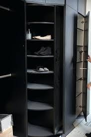 revolving shoe organizer spinning rack closet organiser