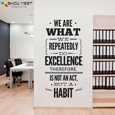 office quotes wall decal vinyl sticker office mural decor inspirational stickers motivational decals size 57 x 120 cm in wall stickers from home garden on  on business motivational wall art with office quotes wall decal vinyl sticker office mural decor