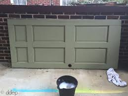 two doors to be used for daybed how to build a daybed from old doors