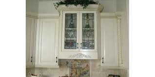 lovely decorative glass inserts for kitchen cabinet doors 1