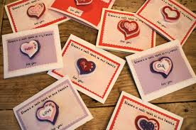 diy valentines hair clips from felt