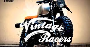 vintage racers cafe tracker by vintage racers