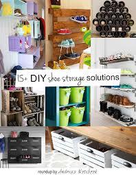 diy shoe shelf ideas. diy family shoe storage solutions andrea s notebook diy shelf ideas