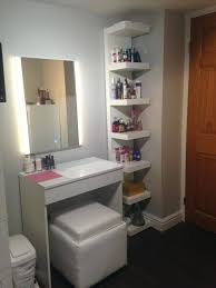 wall mounted makeup organizer vanity wall mounted makeup organizer medium