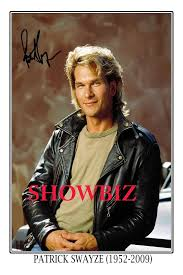 details about patrick swayze large signed autograph poster photo print great gift