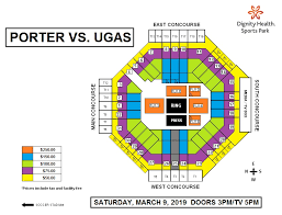 Dignity Sports Park Seating Chart Porter Vs Ugas Dignity Health Sports Park