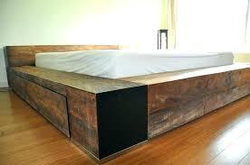 rustic wood bed frame – myhanoi.info