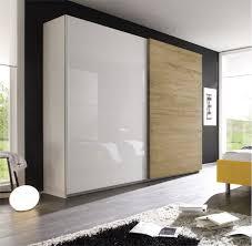 Camera da letto moderna letto ecopelle matrimoniale armadio ...
