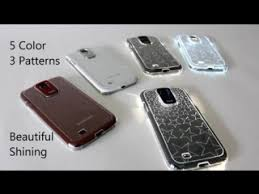 Светящийся <b>чехол</b> для <b>Samsung Galaxy</b> S4