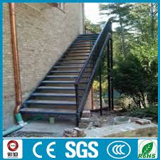 exterior metal staircase prices. exterior aluminum straight stair design metal staircase prices w