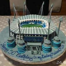 Manchester City Football Birthday Cake Local Lancashire 2