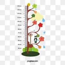 Children S Height Measurement Chart Height Ruler Png Images Vector And Psd Files Free