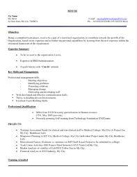 Free Resume For Freshers Curriculum Vitae Resume Samples For Freshers Therpgmovie 15
